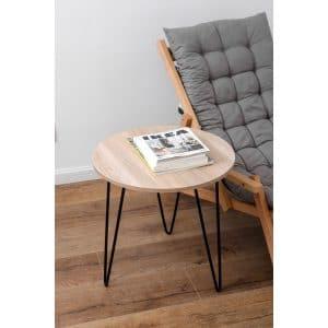 שולחן לסלון עגול KRISTOFF