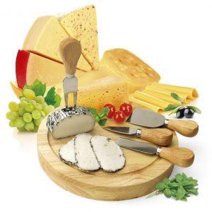 סט מעוצב לחיתוך גבינות Cheese Set