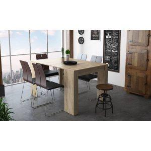 שולחן קונסולה DOMINIC מודולרי נפתח עד 3 מטרים ל12 סועדים
