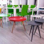 חנות ברדקס סניף חיפה אזור שולחנות סלון ופינות אוכל