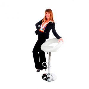 Mark_כסא בר לבן