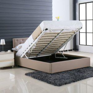 מיטה זוגית 140*190 עם ארגז מצעים PASSION