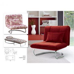 כורסא מעוצבת נפתחת למיטה S0917