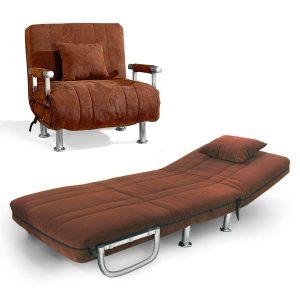 Tobi_כורסא נפתחת למיטה חום מבית ברדקס