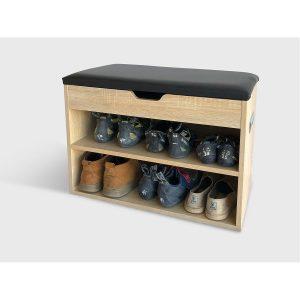 שידת נעליים TRUMP בעלת משטח ישיבה ותא איחסון מבית ברדקס