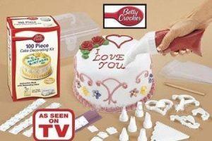 ערכה לקישוט עוגות בת 100 חלקים Cake Decoration Kit