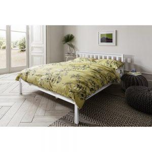 מיטה זוגית 140*190 מעץ מלא LATINA