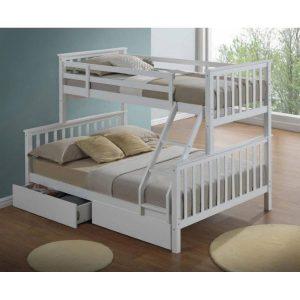 מיטת קומותיים TAILER כוללת מזרנים ומגירות איחסון