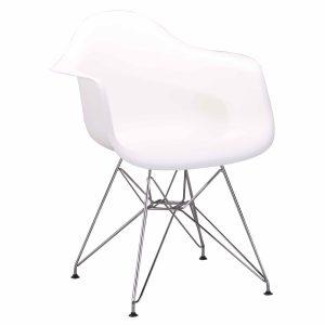 Madi_לבן כסא מעוצב לפינת אוכל או משרד מבית ברדקס
