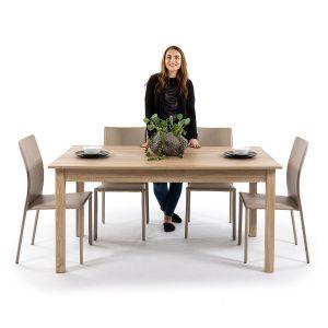 COBURG שולחן לפינת אוכל נפתח ל2 מטרים