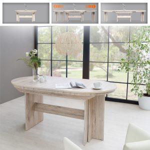 שולחן לפינת אוכל מודולרי נפתח עד 310 ס''מ ROM