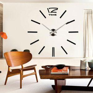 שעון קיר מעוצב תלת מימדי