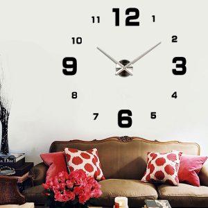 שעון קיר מעוצב תלת מימדי S005