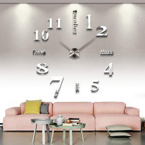 שעון קיר מעוצב תלת מימדי S015