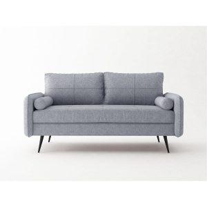 Focus_ספה תלת מושבית צבע אפור