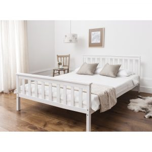 מיטה ברוחב וחצי PROSPER מעץ מלא למזרן 120*190 ס''מ