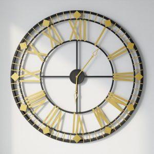 שעון קיר גדול ויוקרתי ORLANDO