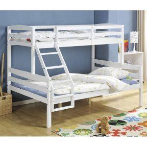 מיטת קומתיים מעץ מלא CRISTALL