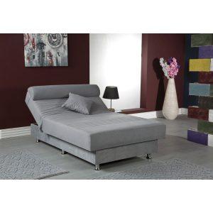 מיטת נוער HALP אורטופדית ברוחב וחצי עם ארגז מצעים