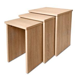שולחן סלון שלושה חלקים NEST