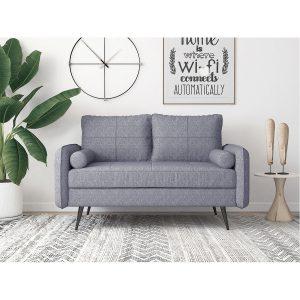 Focus_ספה דו-מושבית מעוצבת צבע אפור מבית ברדקס