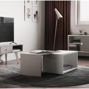 BOX שולחן סלון מודולרי עם תא איחסון