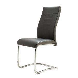 כסא לפינת אוכל LUCKY מרופד דמוי עור