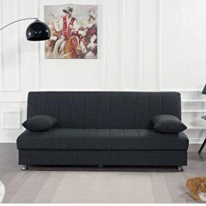BONO ספה תלת מושבית נפתחת למיטה עם ארגז מצעים
