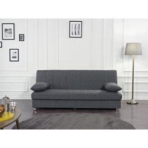 BONO ספה תלת מושבית נפתחת למיטה עם ארגז מצעים מתצוגה