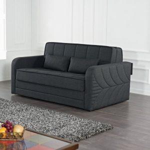 DOMO ספה נפתחת למיטה זוגית עם ארגז מצעים