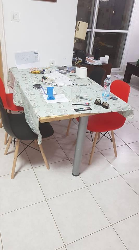 מוניקה ממודיעין, כסאות URSULA