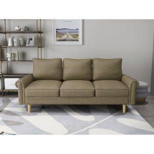ספה ARTO תלת מושבית בסגנון רטרו