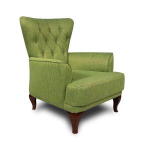 כורסא יוקרתי JOY מעוצבת מרופדת במגוון צבעים