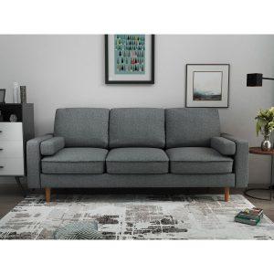 ספה תלת מושבית אפור Mardi מבית ברדקס