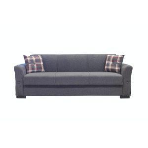 VERSUS ספה תלת מושבית נפתחת למיטה עם ארגז מצעים
