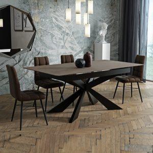 MALAGA פינת אוכל עם 4 כסאות