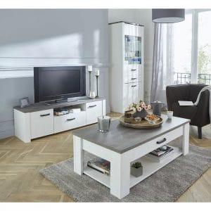 טס MARKIZ שולחן סלון ומזנון טלוויזיה תוצרת אירופה