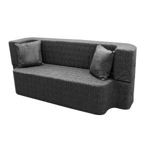 ספה תלת מושבית SAPATA עשויה ספוג נפתחת למיטה