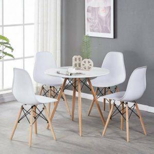 פינת אוכל SORENTO כוללת שולחן עגול ו4 כסאות