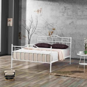 DION מיטת מתכת זוגית למזרן 160*200 ס''מ