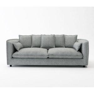 Adam_ספה תלת מושבית גדולה צבע אפור