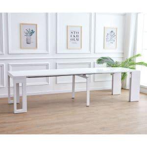 שולחן קונסולה ALBA מודולרי נפתח עד 3 מטרים