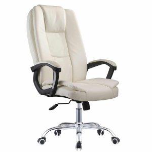כסא מנהלים יוקרתי BURO בריפוד דמוי עור חזק ואיכותי