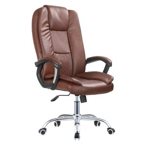 כסא מנהלים יוקראתי BURO בריפוד דמוי עור חזק ואיכותי