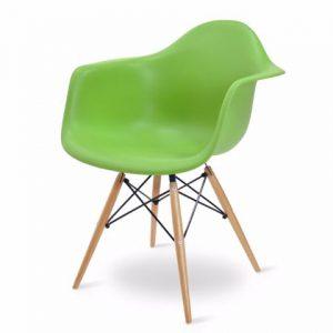 Madi כסא לפינת אוכל צבע ירוק