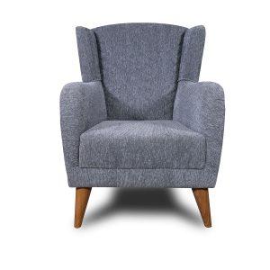 Camper_כורסא מעוצבת צבע אפור מבית ברדקס