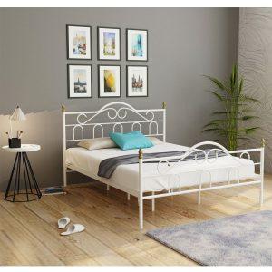 מיטה ברוחב וחצי TRUVA ממתכת למזרן 120*190 ס''מ במגוון צבעים