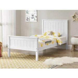מיטת יחיד EDEN עשויה עץ מלא למזרן 90*190 ס''מ