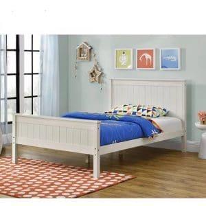 מיטה LINOR לנוער עשויה עץ מלא למזרן 120*190 ס''מ