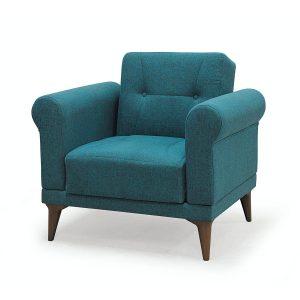 Violet_כורסא בודדת עם ארגז מצעים צבע טורקיז מבית ברדקס